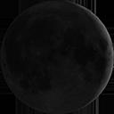 Lluna nova visible