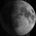 Lluna gibosa creixent